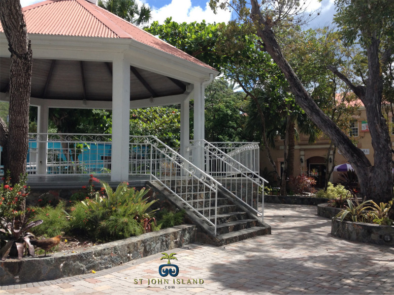 Gazebo on St. John Island